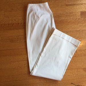 Tahari Cream Dress Pants
